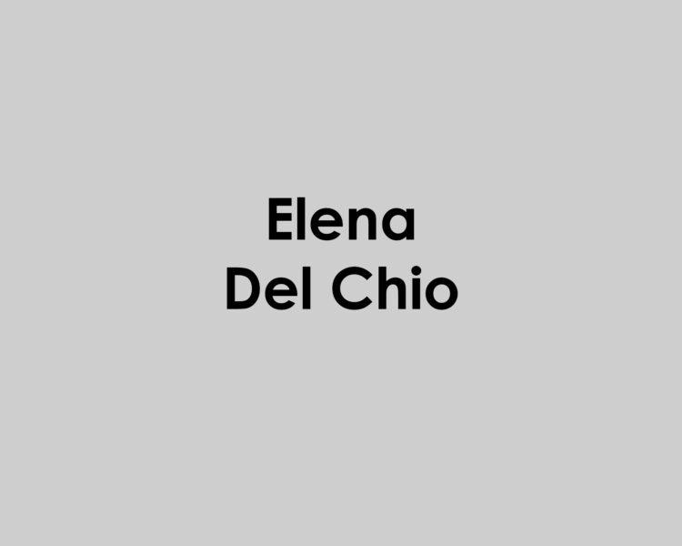Elena del chio