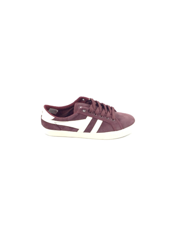GOLA – TENNIS MARK COX SUEDE – BURGUNDY OFF WHITE
