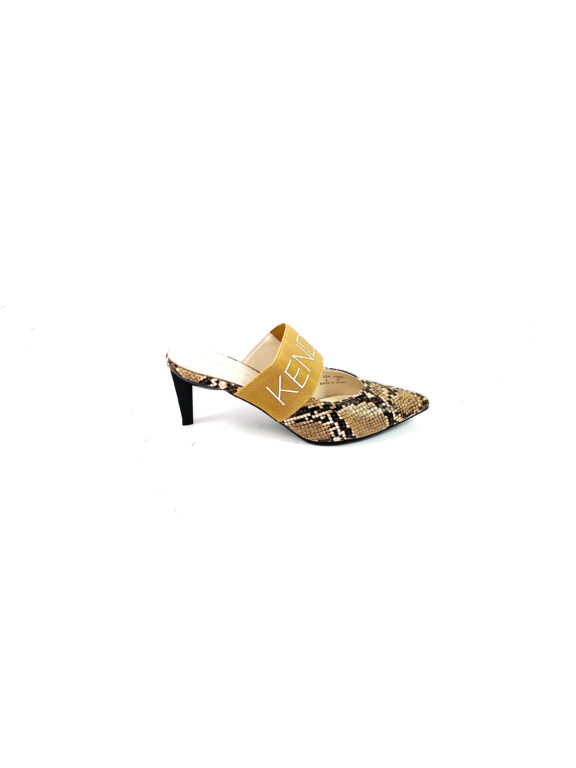KENDALL + KYLIE – LACEY SANDAL – NATURAL SNAKE